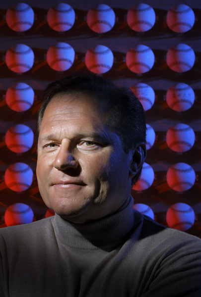 Sports agent Scott Boras at his office in Newport Beach. © 2007 by Mark Avery